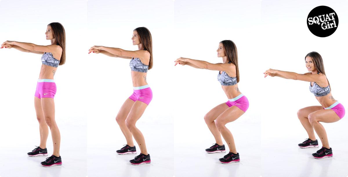 squats zwanger